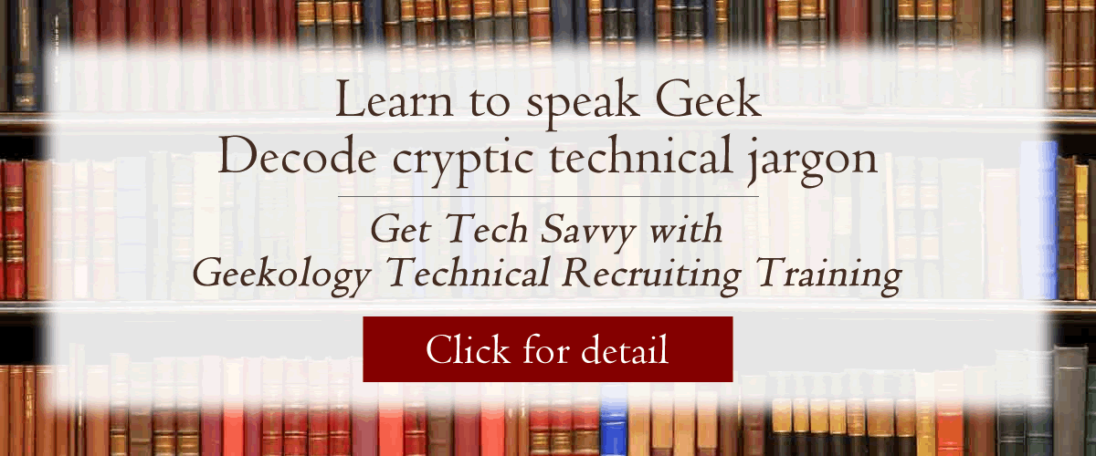 technical recruiter training
