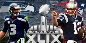 Super Bowl XLIX Seahawks vs. Patriots